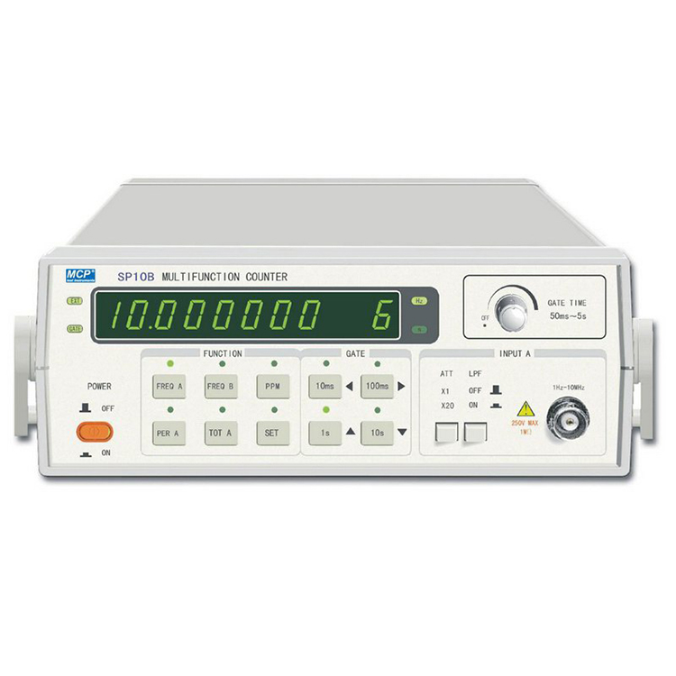 SP10B/SP100B 10/100MHZ FREQUENCY COUNTER