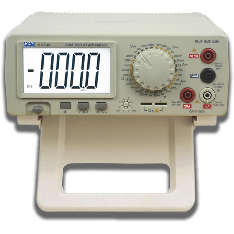MT8045/MT8145 BENCHTOP DIGITAL MULTIMETER WITH RS232 INTERFACE