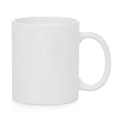 White Resin 11oz Ceramic Mug