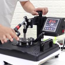 Set the heat press machine ● Preheat the machine. ● Set the temperature, time and pressure setting.
