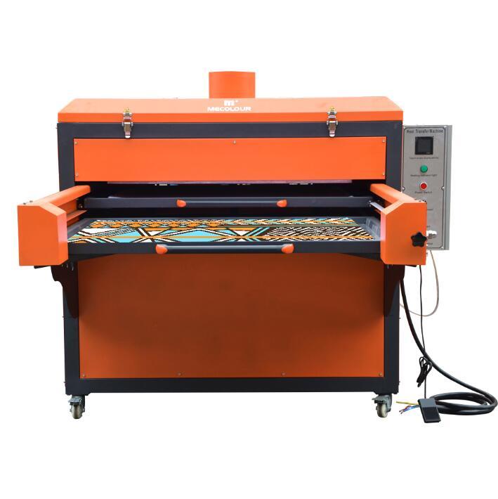 Semi-Automatic Pneumatic Double Station Heat Press Machine 80cmx100cm