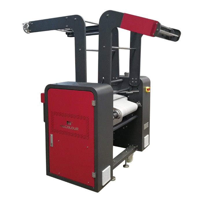 Lanyard Ribbon Calender Heat Press Machine