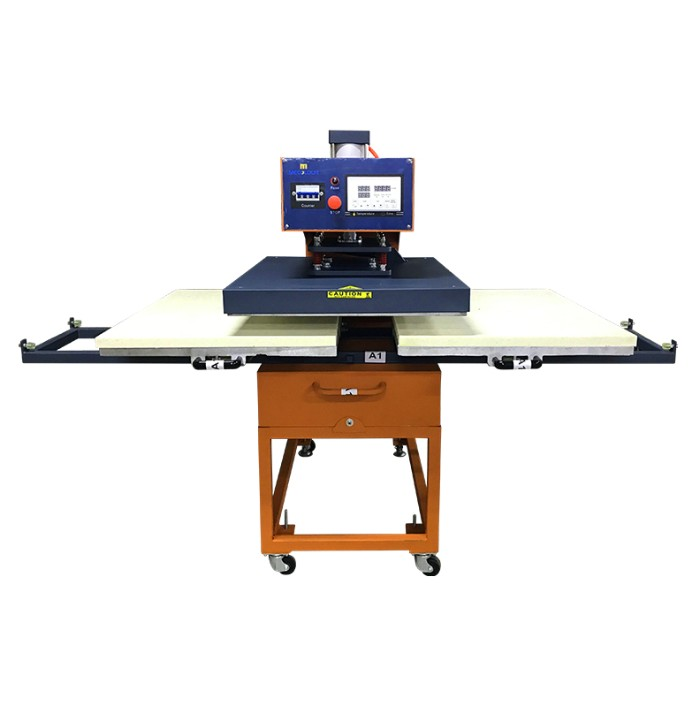 70x90cm Pneumatic Heat Press With Double Base