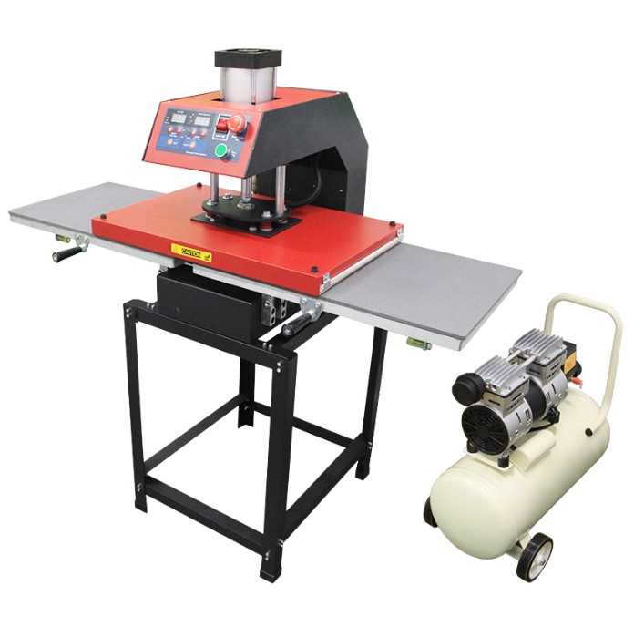 40x60cm Pneumatic Thermal Press With Double Workstation