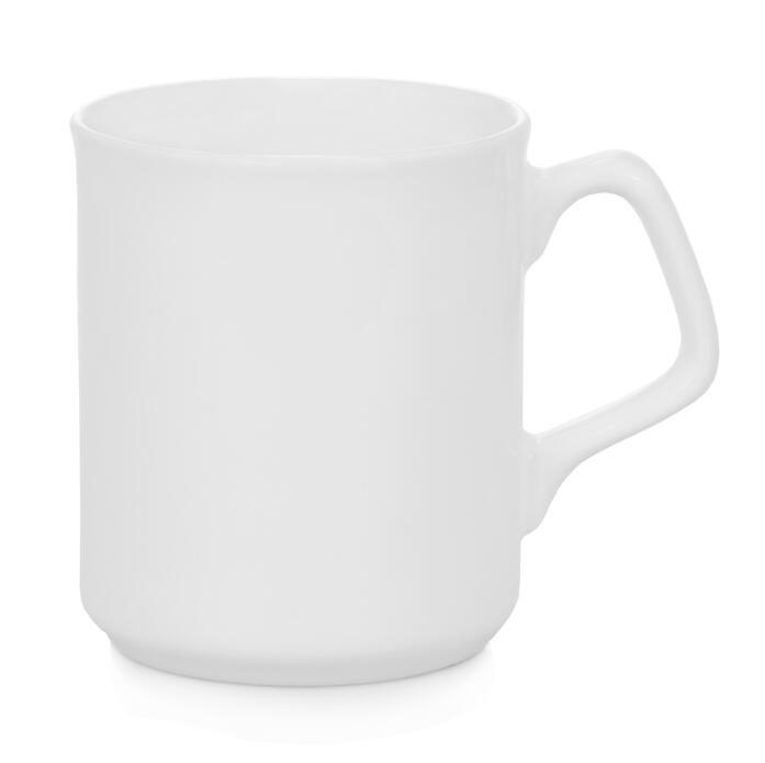 9oz Ceramic Mug with Square Handle