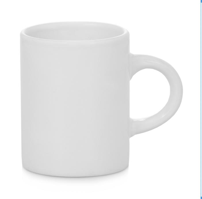 3oz Mini White Mug