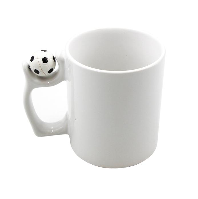 11oz Soccer Ceramic Mug