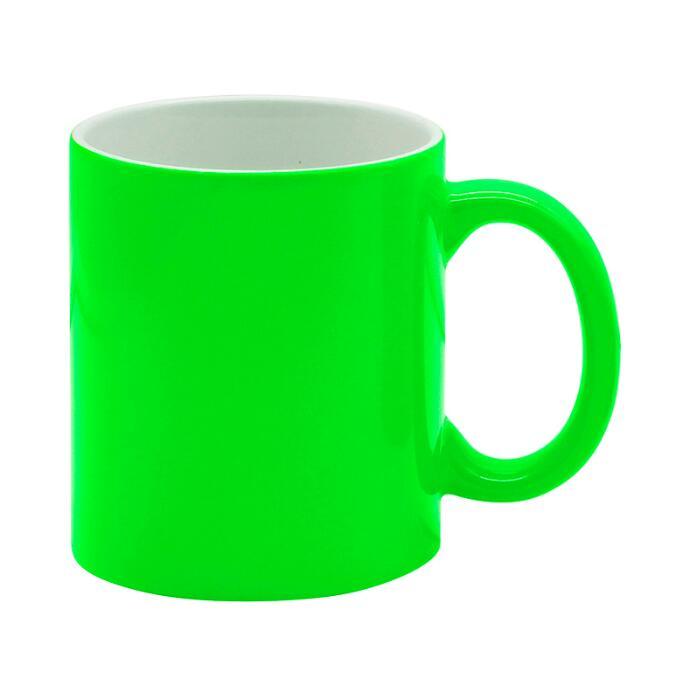 11oz Fluorescent Mug with lustrous finish