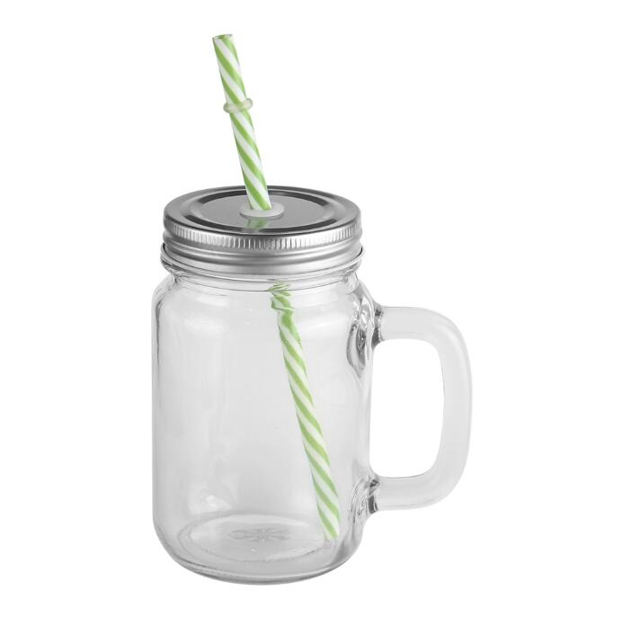 Transparent Mason Jar For Sublimation With 450ml