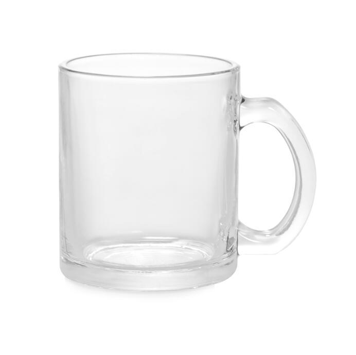 11oz Transparent Beer Mug For Sublimation
