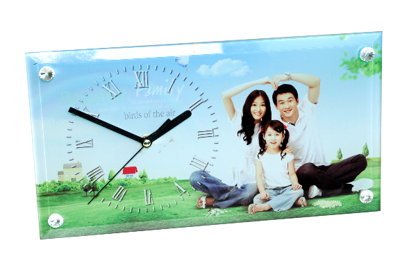 Photo Frame For Sublimation With Clock