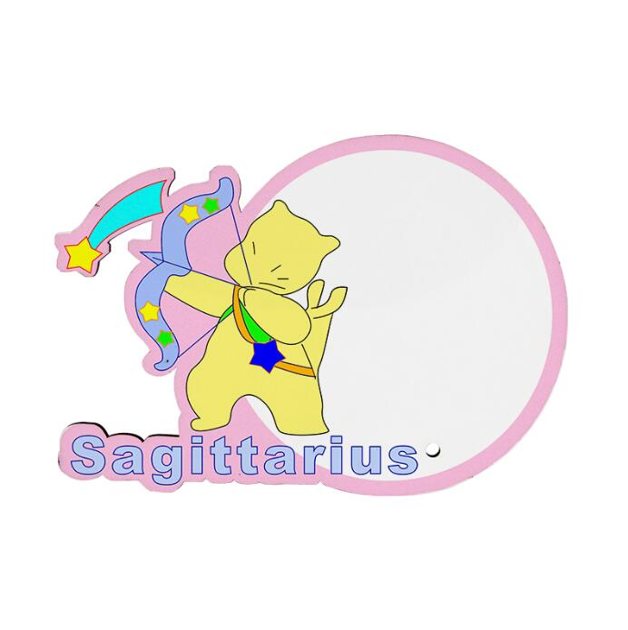 MDF wood Photo Frame - Sagittarius Zodiac Sign
