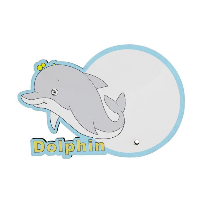 MDF Wood Photo Frame - Dolphin