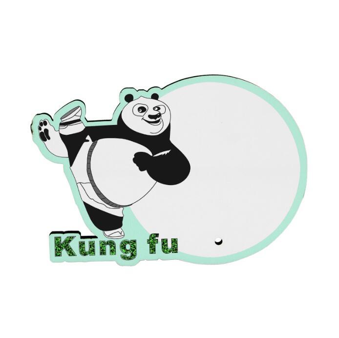 MDF Wood Photo Frame - Kung Fu Panda