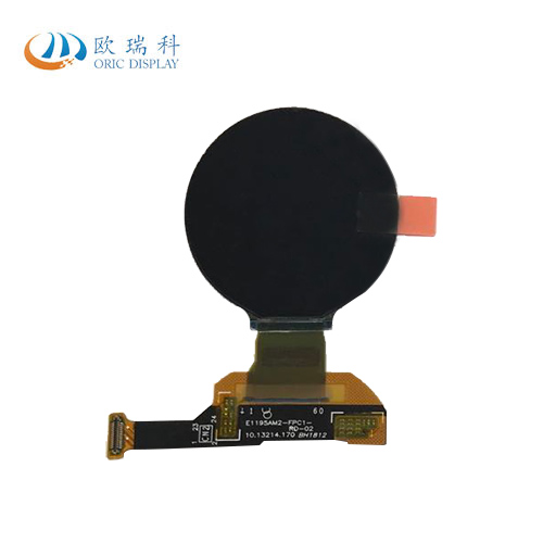 Buy 1.2 Inch Amoled Smart Watch Round Oled Screen Display