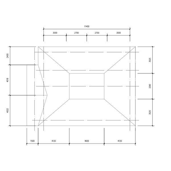 structure chart of steel building home kits