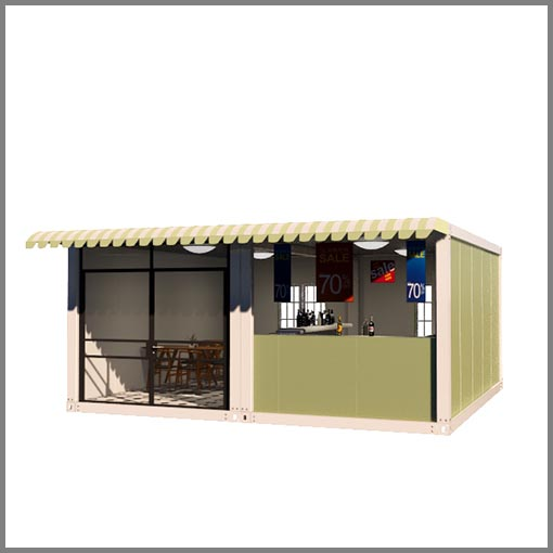 fast install container house