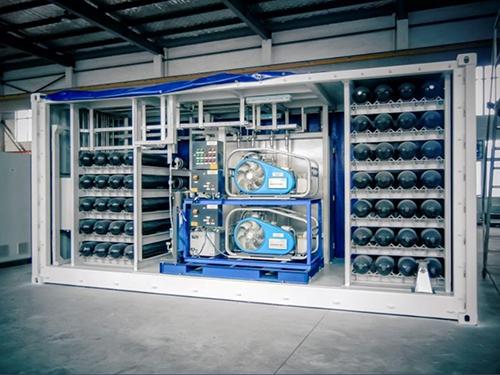 High Pressure Cylinder and Air Compressor System