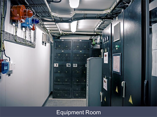 explosion proof container room