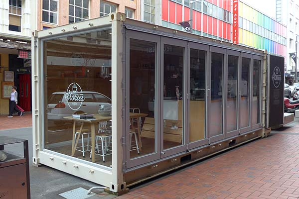 container coffee shop cabin