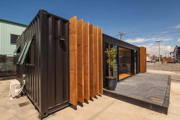 flat pack container shop