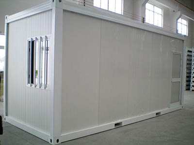 flat pack 20 ft container