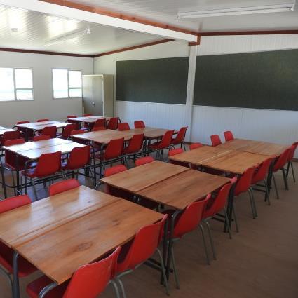 prefab container school