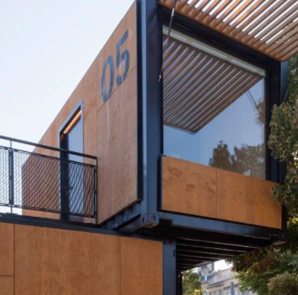 Customized 20ft 40ft Shipping Container House Hotel For Sale
