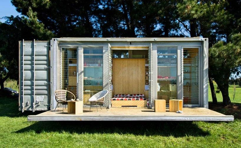 About the cost of shipping container house