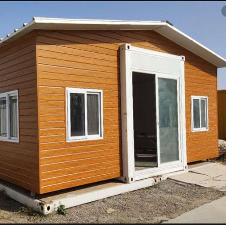 Luxury 40 Feet Expandable Shipping Container House Villa Design For Sale