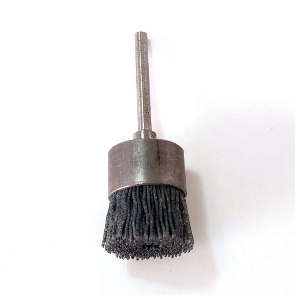 Miniature Brushes Cup Brushes Crimped Silicon Carbide (SIC) Plastic Filament