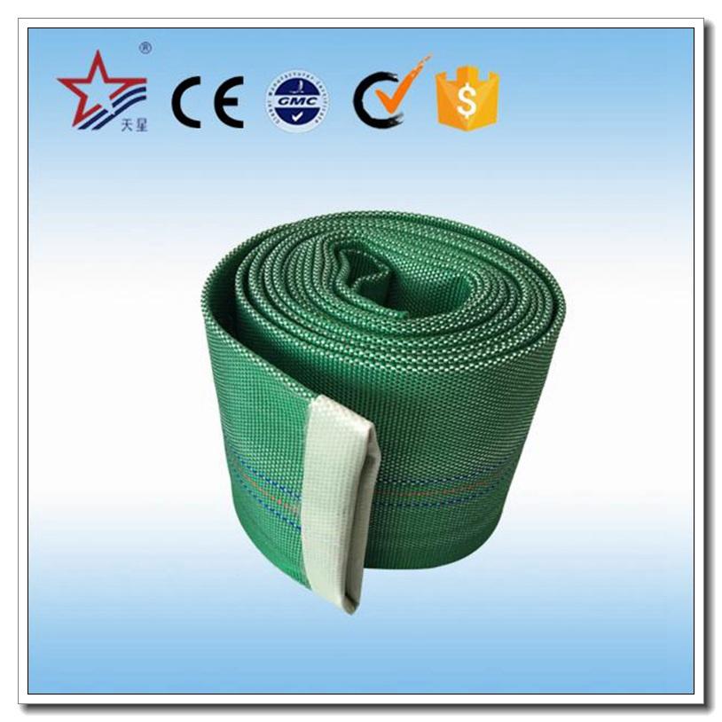 Large Diameter Green Color Durable Fire Hose