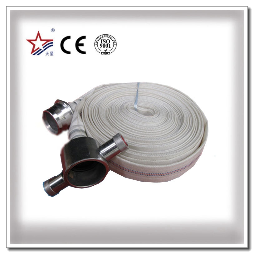 High Pressure PVC Fire Hose With BS Coupling