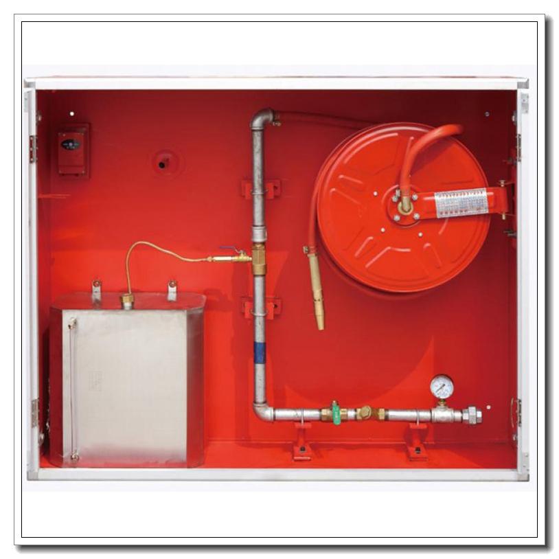 Armoire de dévidoir de tuyau de lutte contre l'incendie