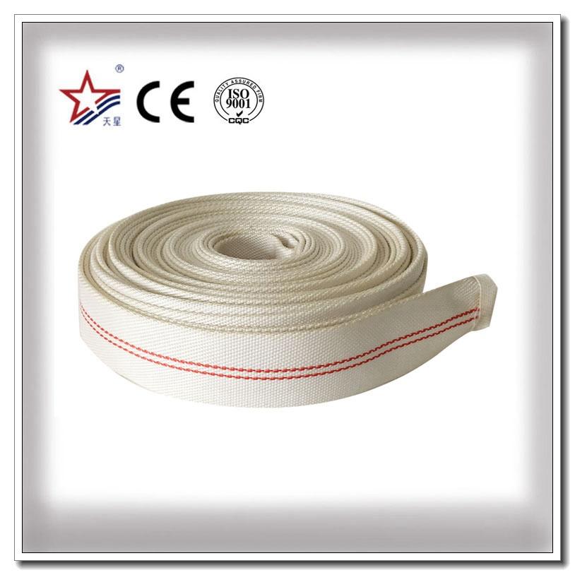 Tuyau simple de tuyau d'incendie de PVC de veste pour l'irrigation