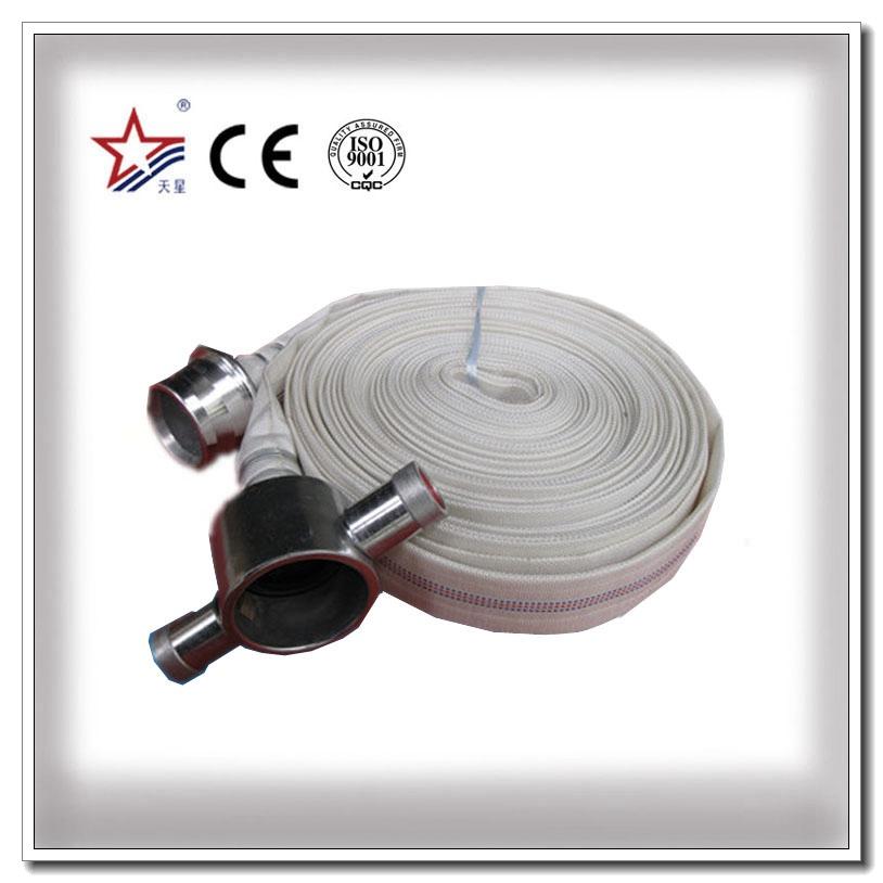 Tuyau d'incendie en PVC haute pression avec raccord BS