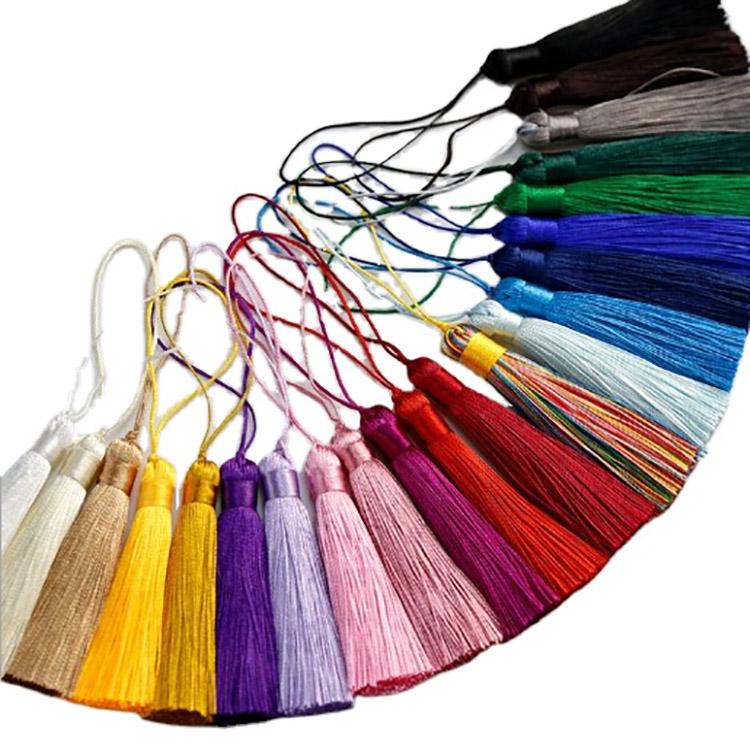 In Stock Silk Tassel Custom Thickness Tassel