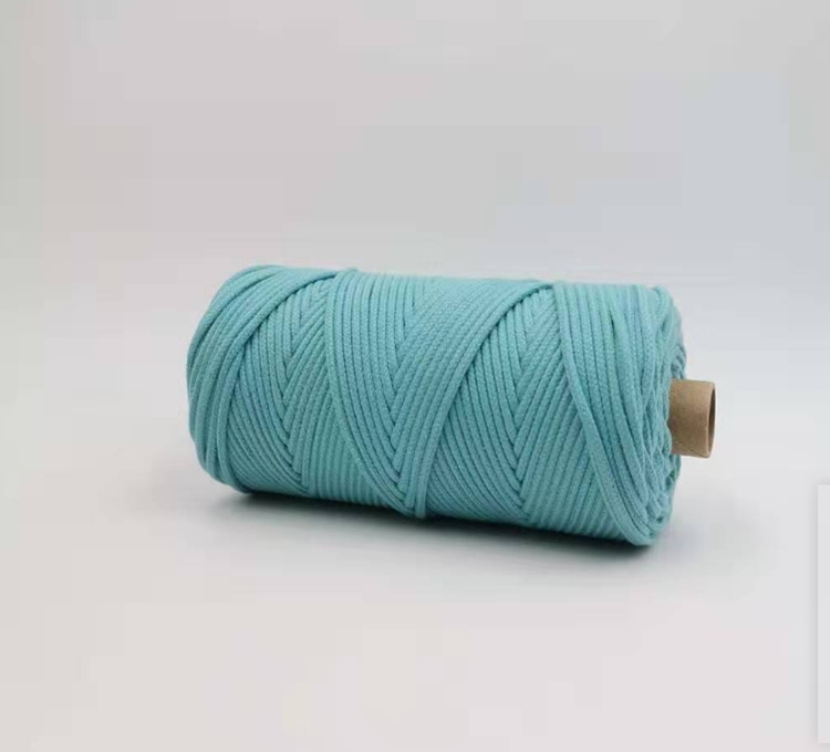 100% New Cotton Rope Pure Cotton Rope Macrame Cotton Cord 3mm