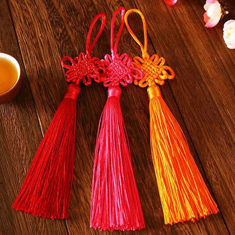 Amusing Tassel Tieback Tassels Jewelry Chinese Knot