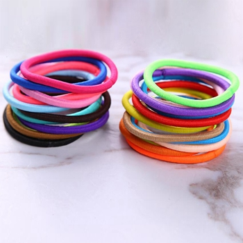 Customized Wholesale Cheap 4mm Hair Tie Simple Hair Bands