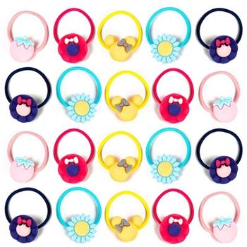 Durable Plastic Cute Hair Band Kids Girls Children Elastic Hair Tie
