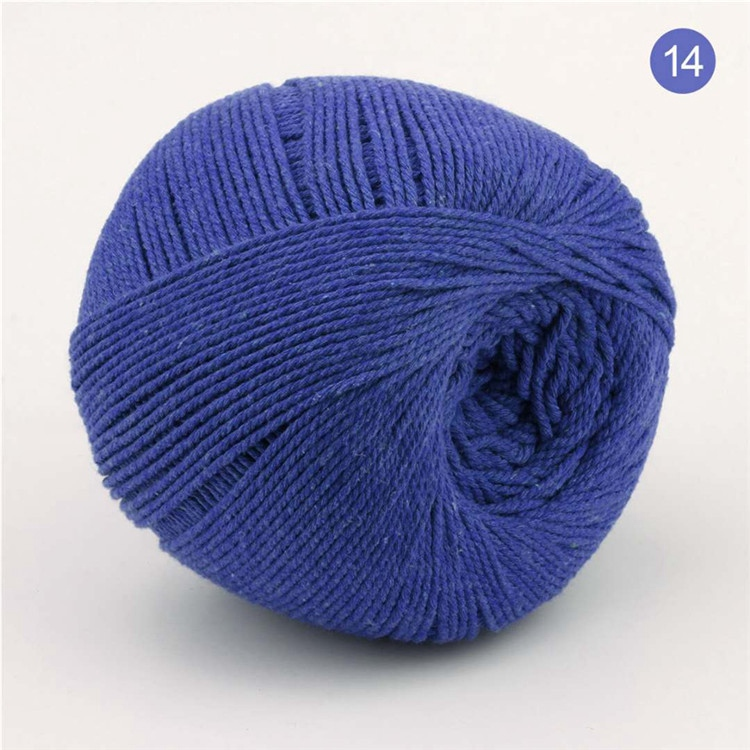 3mm Colored Poly Cotton Rope For Crochet