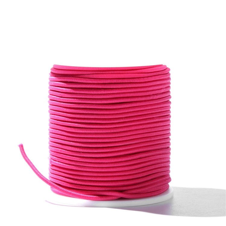 Customized 2mm 3mm 4mm Colored Elastic Cord