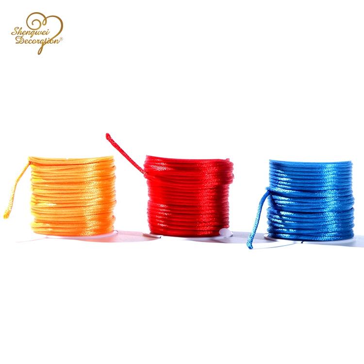 3mm 10m/roll 12rolls Per Box Single Color Nylon Korean Braided Rope