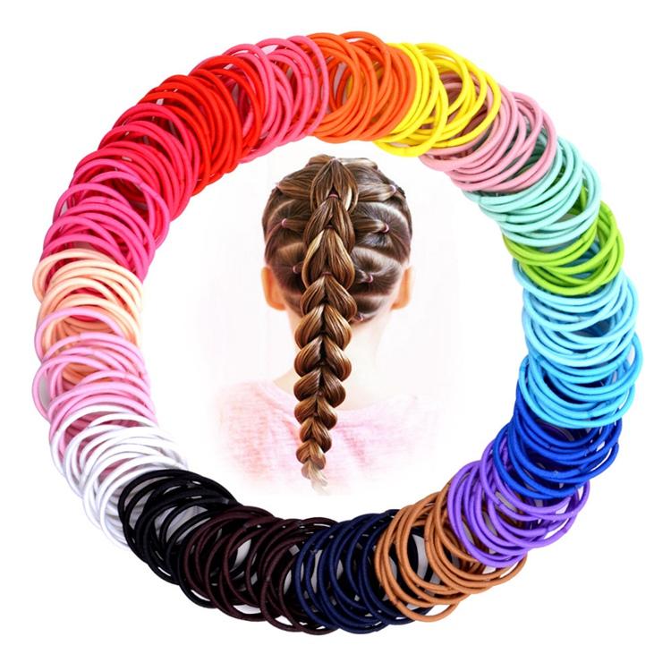 Pure Colour Elastic Hair Band