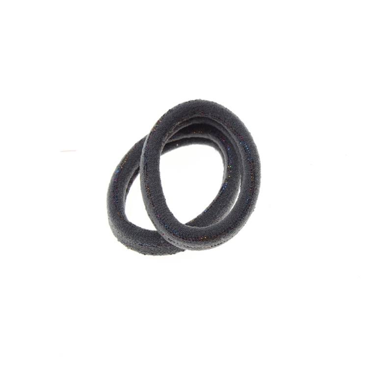Factory Directly Sale High Quality Girls Beautiful Shiny Ouchless Elastic Hair Tie Ponytail Holder