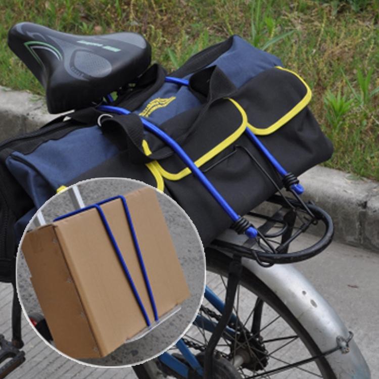 8mm Package Binding Rope Bicycle Motorcycle Wheelbarrow Luggage Strap High Elasticity Bungee Rope