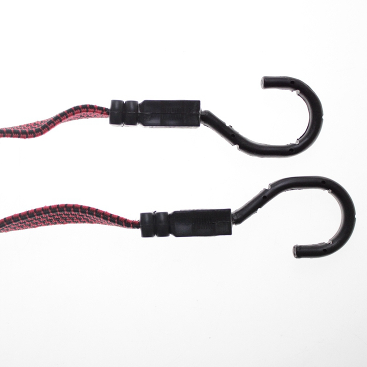 Direct Selling Bungee Cord Clips Red Flat Bungee Cord Thick