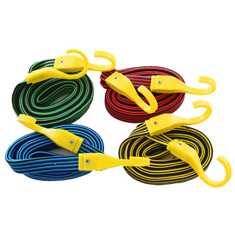 Wholesale Flat Elastic Bungee Cord Jump With Hooks