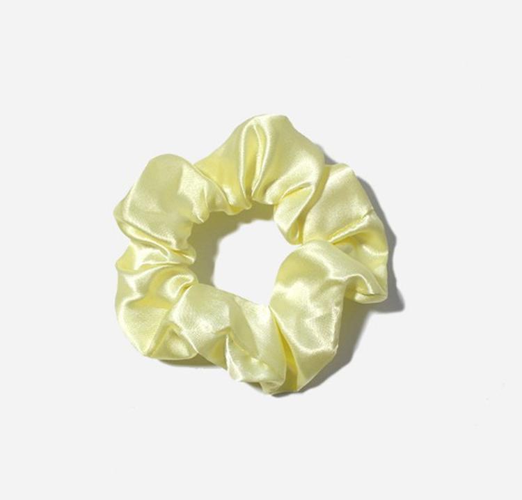 4.5CM Satin Hair Scrunchies Women Hair Accessories Elastic Hair Band Ties